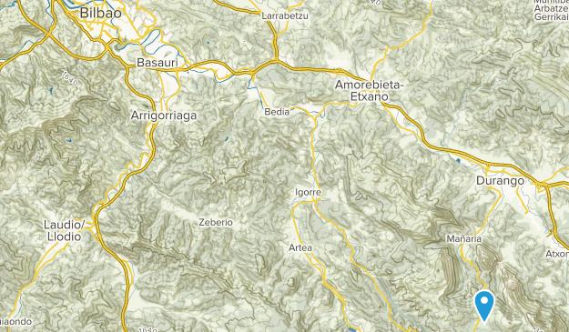Urkiola, Bizkaia Map