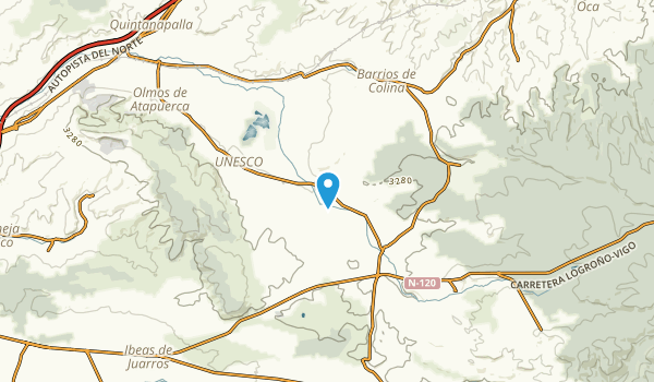 Arlanzón, Burgos Map