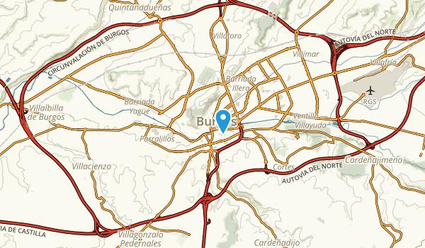 Burgos, Burgos Map