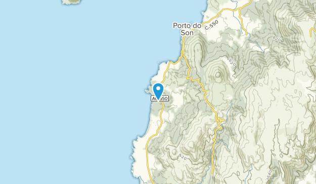 Baroña, Cáceres Map