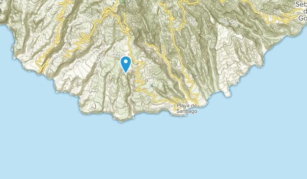 Alajeró, Canary Islands Map