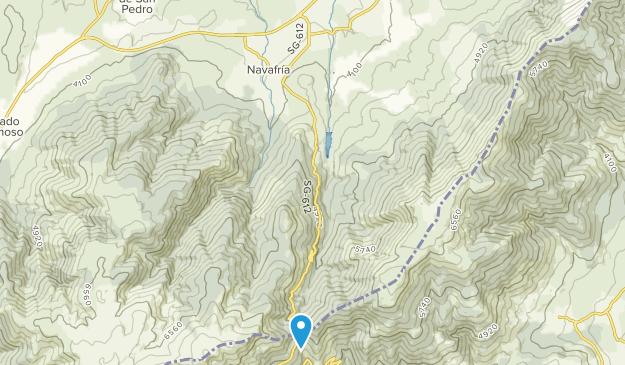 Aldealengua De Pedraza, Castile and León Map