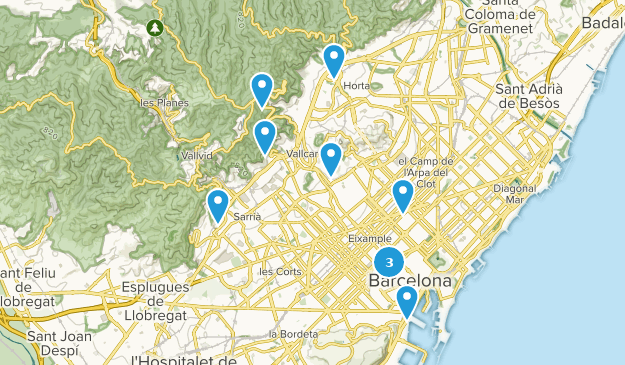 Map Of Spain Near Barcelona.Best Trails Near Barcelona Catalonia Spain Alltrails