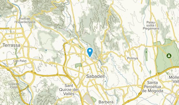 Sabadell, Catalonia Map
