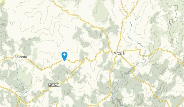 Arzúa, Extremadura Map