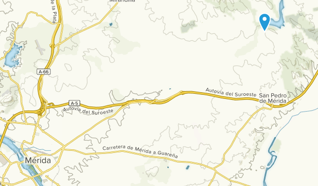 Map Of Spain Extremadura.Best Trails Near Merida Extremadura Spain Alltrails