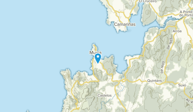 Muxía, Extremadura Map