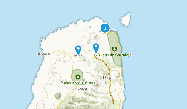 Map Of Spain Oliva.Best Trails Near La Oliva Fuerteventura Spain Alltrails