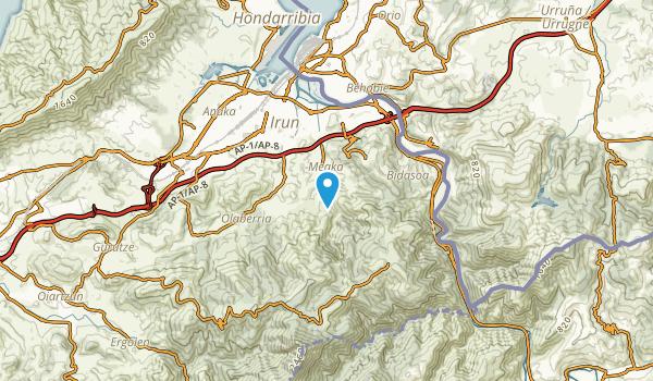Irun, Gipuzkoa Map