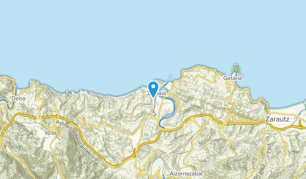 Zumaya, Gipuzkoa Map