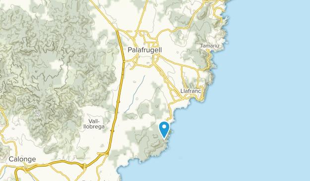 Palafrugell, Girona Map