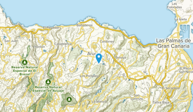 Map Of Spain Gran Canaria.Best Trails Near Arucas Gran Canaria Spain Alltrails