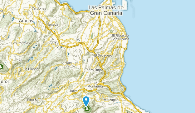 Map Of Spain Gran Canaria.Best Trails Near Las Palmas De Gran Canaria Gran Canaria Spain