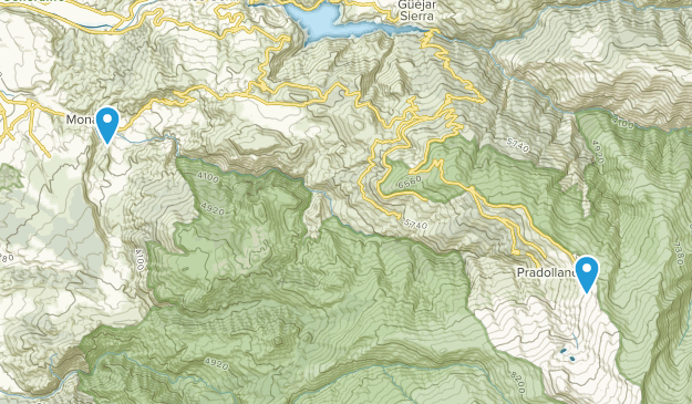 Monachil, Granada Map