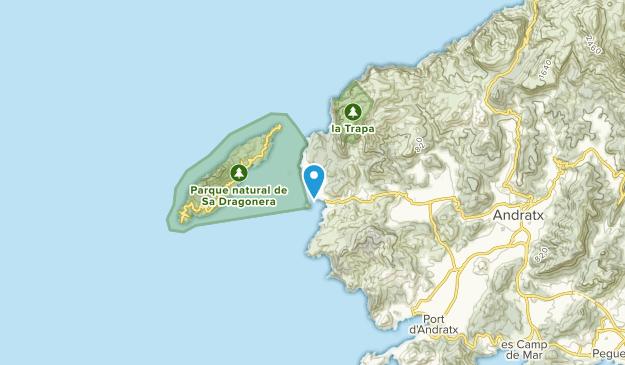 Andratx, Illes Balears Map