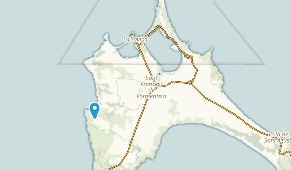 Formentera, Illes Balears Map