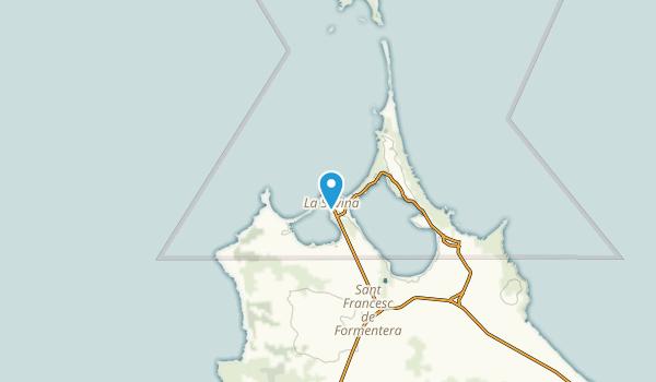 La Savina, Illes Balears Map