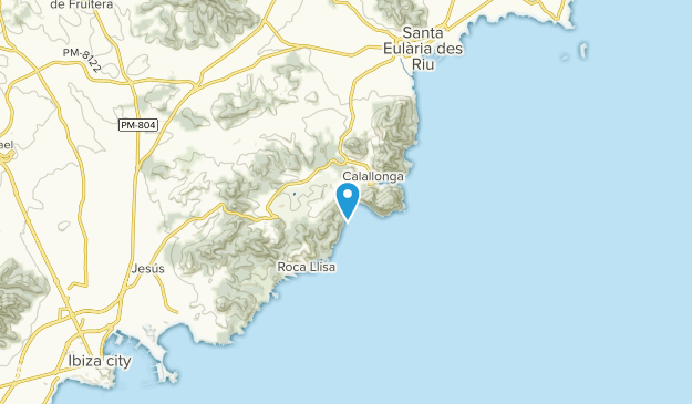Santa Eulalia Del Río, Illes Balears Map