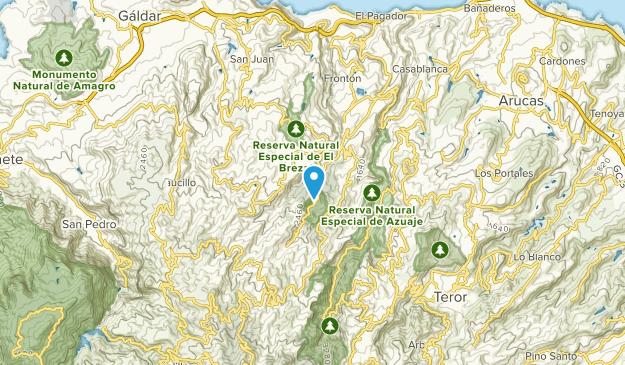 Moya, Las Palmas Map