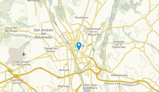 León, León Map