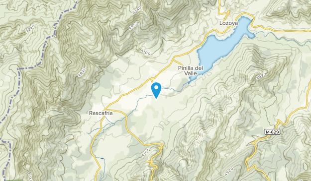Alameda Del Valle, Madrid Map