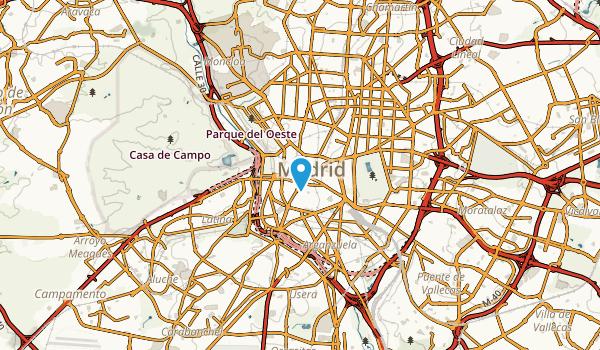Madrid, Madrid Map