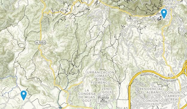 Mijas, Málaga Map