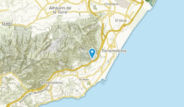 Torremolinos, Málaga Map