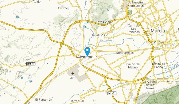 Murcia Map Of Spain.Best Trails Near Alcantarilla Murcia Spain Alltrails