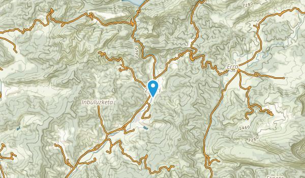 Esteribar, Navarra Map