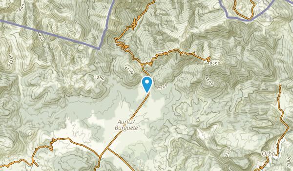 Orreaga, Navarra Map
