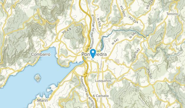 Pontevedra, Pontevedra Map
