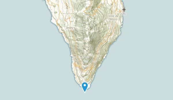 El Paso, Santa Cruz de Tenerife Map