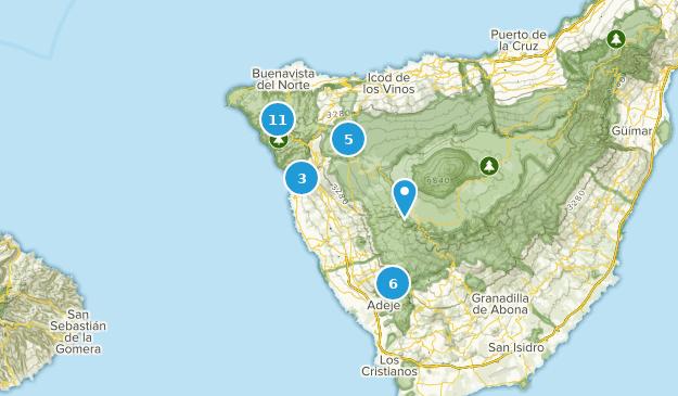 Beste Wege in der Nähe von Buenavista del Norte, Tenerife ...