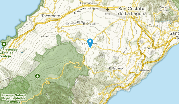 Map Of Spain Tenerife.Best Trails Near El Rosario Tenerife Spain Alltrails