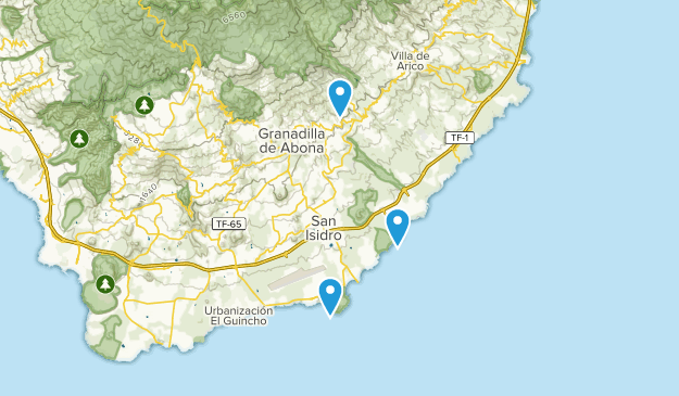 Best Trails Near Granadilla De Abona Tenerife Spain Alltrails