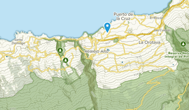 Map Of Spain Tenerife.Best Trails Near Los Realejos Tenerife Spain Alltrails