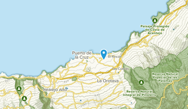 Map Of Spain Tenerife.Best Trails Near Puerto De La Cruz Tenerife Spain Alltrails