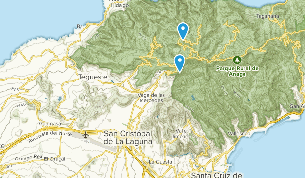 Map Of Spain Tenerife.Best Trails Near San Cristobal De La Laguna Tenerife Spain Alltrails