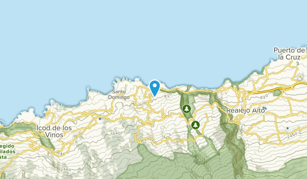 Map Of Spain Tenerife.Best Trails Near San Juan De La Rambla Tenerife Spain Alltrails