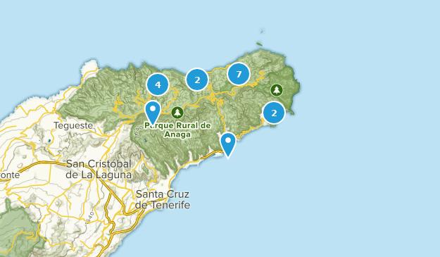 Map Of Spain Tenerife.Best Trails Near Santa Cruz De Tenerife Tenerife Spain Alltrails