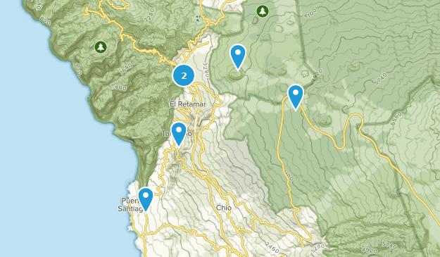 Map Of Spain Tenerife.Best Trails Near Santiago Del Teide Tenerife Spain Alltrails