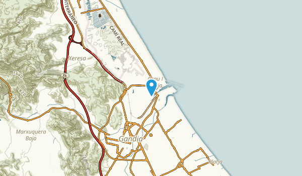 Grau i Platja, Valencia Map