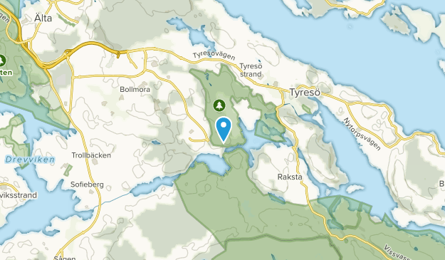 Tyresö, Sweden Map