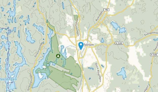Olofström, Blekinge Map
