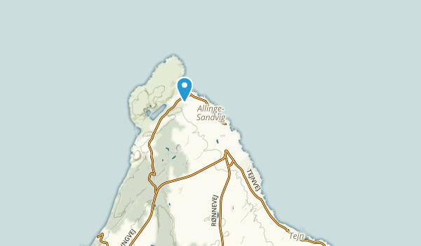 Allinge-Sandvig, Hovedstaden Map