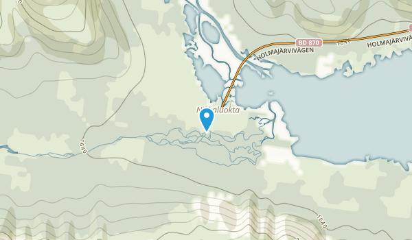 Nikkaluokta, Norrbotten Map