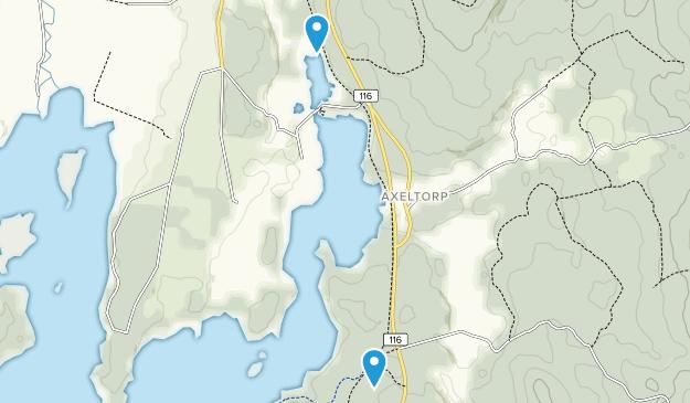 Axeltorp, Skåne Map