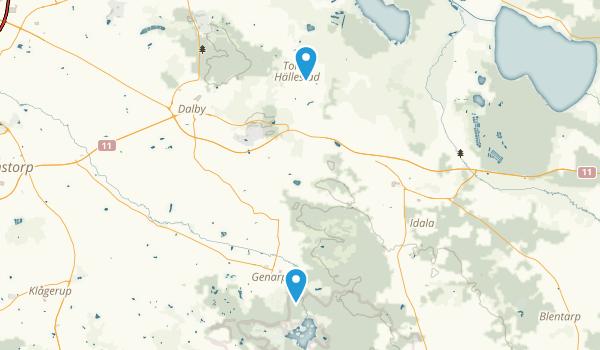 Hällestad, Skåne Map