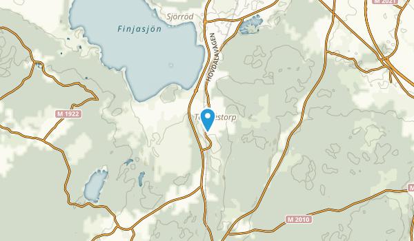 Hässleholm, Skåne län Map